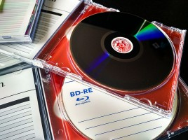 BlueRay Discs für das Backup
