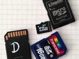 Diverse SD Karten